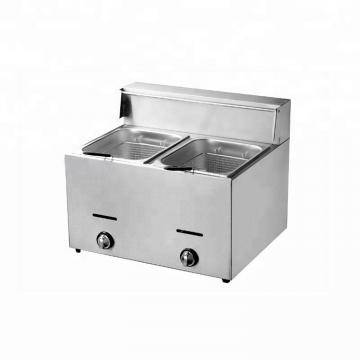 Standard Air Gas Deep Fat Fryer Burger Frying Machine