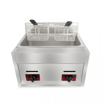 Fast Food Shop Widely Use Gas Heat Donut Fryer Machine